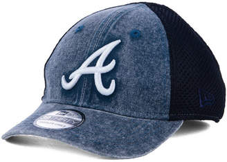 New Era Boys' Atlanta Braves Jr Hooge Neo 39THIRTY Cap