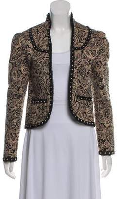 Saint Laurent Studded Paisley Jacket w/ Tags