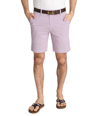Vineyard Vines 9 Inch Seersucker Gingham Breaker Shorts