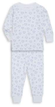 Kissy Kissy Baby's, Toddler's & Little Girl's Two-Piece Fleur De L'Amour Pajama Set