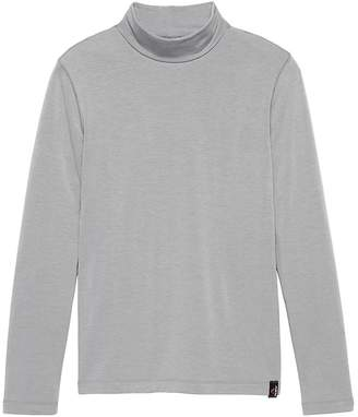Banana Republic Polartec® Fleece Mock-Neck Sweatshirt