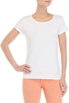 philosophy Scoop Neck Basic Tee