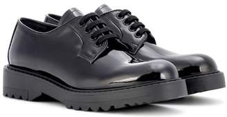 Prada Derby patent leather shoes