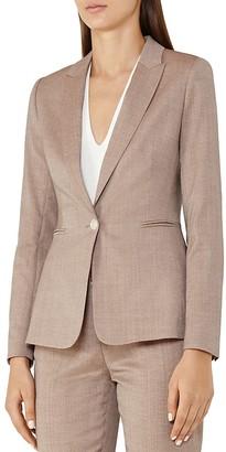 REISS Turner Wool-Blend Blazer $445 thestylecure.com