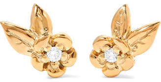 Meadowlark - Alba Gold-plated Diamond Earrings