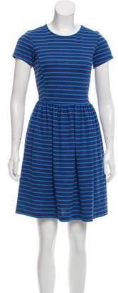 Peter Som Striped Mini Dress