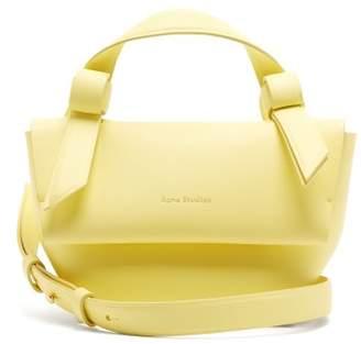 Acne Studios Musubi Milli Leather Cross Body Bag - Womens - Yellow