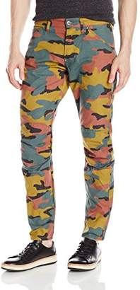 G Star Men's 5622 Elwood X25 Jeans by Pharrell Williams in Woodland Camo