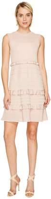 M Missoni Lurex Mouline Dress w/ Ruffles Women's Dress