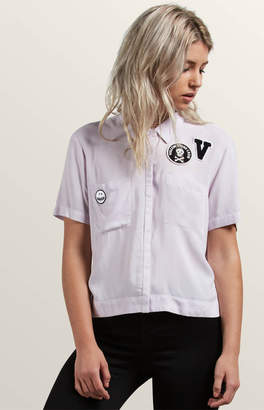 Volcom Stone Resort Button Down Top