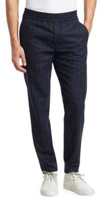 Acne Studios Ryder Pinstripe Tapered Trousers