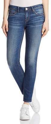 True Religion Halle Mid Rise Super Skinny Jeans in Gen Y
