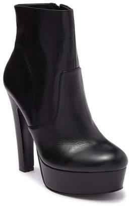 KG by Kurt Geiger Spear Leather Platform Stiletto Heel Ankle Boot