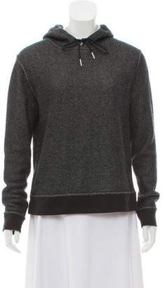 Alexander Wang Woven Hooded Sweatshirt