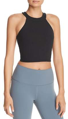 Alo Yoga Unite Rib-Knit Sports Bra