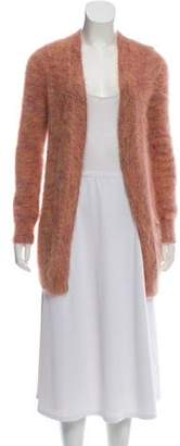 Theory Angora-Blend Open-Front Cardigan