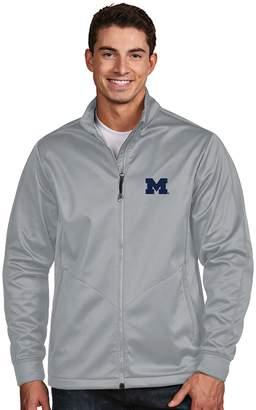 Antigua Men's Michigan Wolverines Waterproof Golf Jacket