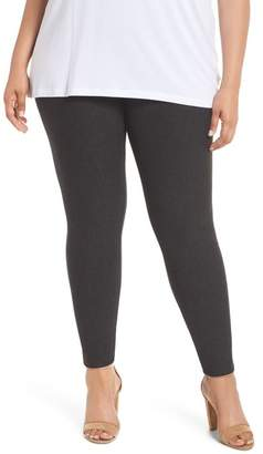 Lysse Rib Flare Leggings (Plus Size)