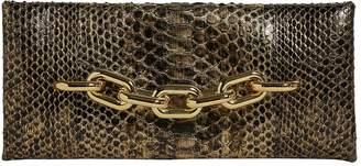 Tom Ford Python Chain Clutch