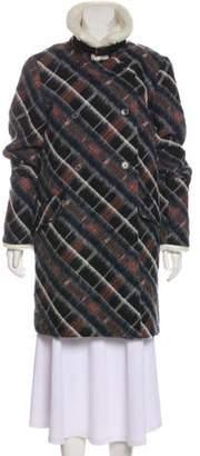 Kenzo Virgin Wool-Blend Coat w/ Tags
