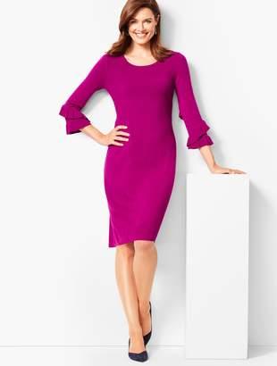 Talbots Three-Quarter-Sleeve Sweater Dress