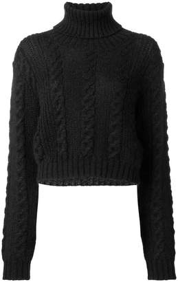 Versace roll neck jumper