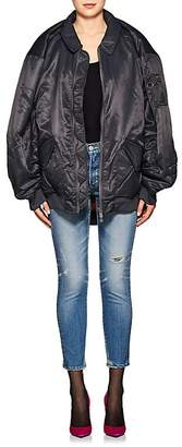 Y/Project Women's Oversized Tech-Satin Bomber Jacket