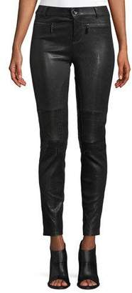 Alexis Corvin Skinny Leather Ankle Pants