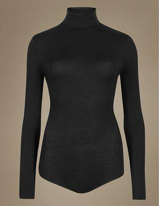 "Marks and Spencer Heatgenâ""¢ Polo Neck Thermal Body"