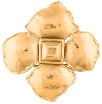 Saint LaurentYves Saint Laurent Flower Brooch
