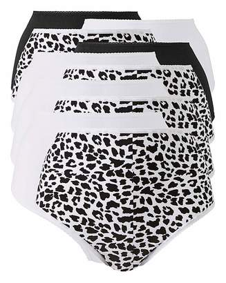 Naturally Close 10Pack Animal Print Full Fit Briefs