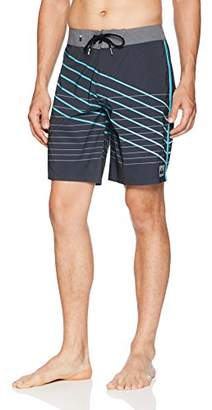"Quiksilver Men's Highline Shibori Slash 19"" Swimtrunk Boardshorts"