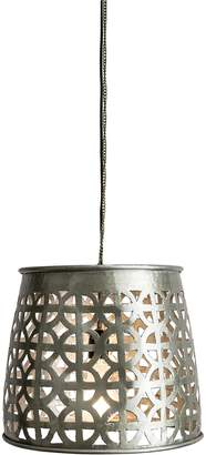 Casa Uno Helmet Cut Out Aluminium Pendant Light