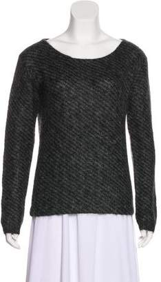 Prada Scoop Neck Lightweight Sweater