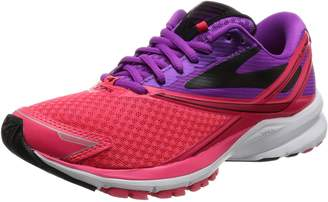 Brooks Women's Ghost 10 Running Shoe (BRK-120246 1B 3935960 7.5 PUR/PNK/Tea)