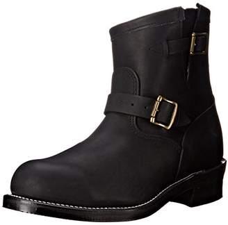 "Chippewa Men's 7"" Steel Toe 27872 Motorcycle Boot"