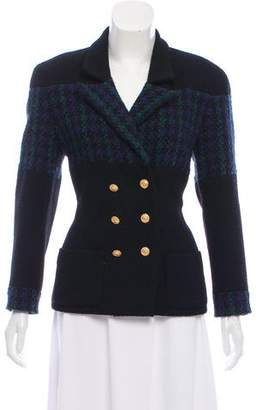 Chanel Double-Breasted Blazer
