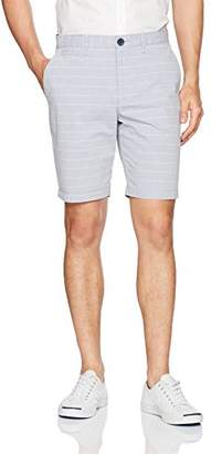 "Original Penguin Men's 9"" Thin Horizontal Stripe Short"