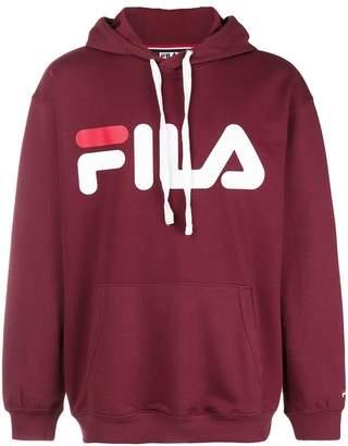 Fila printed logo hoodie