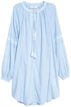 H&M Cotton Tunic - Blue