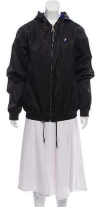 P.E Nation Reversible Hooded Jacket