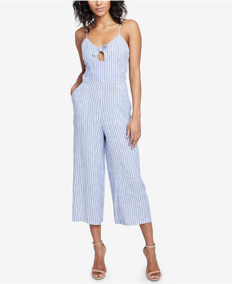 Rachel Roy Cropped Cutout Jumpsuit, Created for Macy's