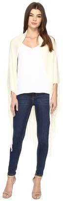 Nicole Miller Fringe Wrap Women's Sweater