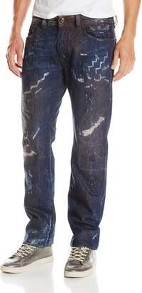 Diesel Men's Safado Regular Slim Straight Leg Jean 0833D
