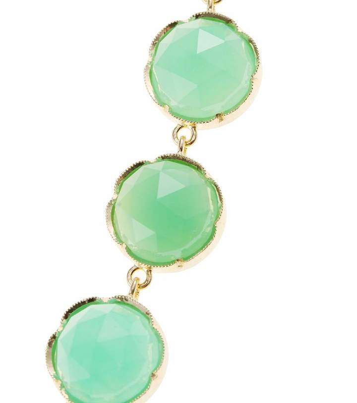 Irene Neuwirth 18KT YELLOW GOLD NECKLACE WITH CHRYSOPRASE STONES