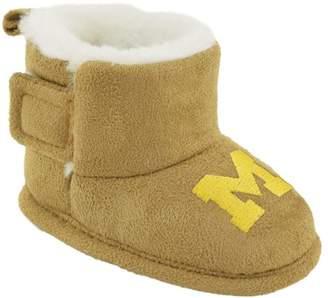 NCAA Baby Michigan Bootie