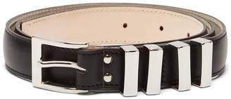 Balmain Multi-loop leather belt