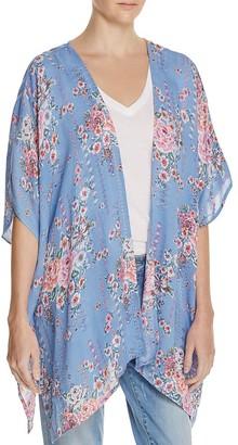 En Créme Floral Print Kimono - 100% Exclusive $58 thestylecure.com