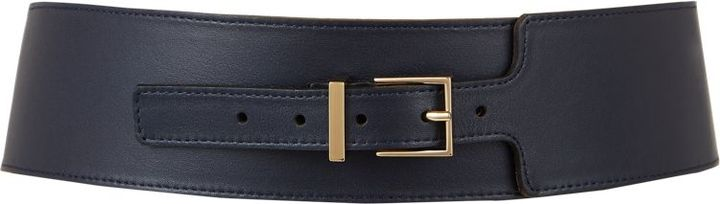 Maison Boinet Wide Waist Belt-Colorless