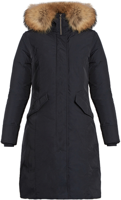 WOOLRICH JOHN RICH & BROS. Luxury Arctic fur-trimmed padded parka $850 thestylecure.com